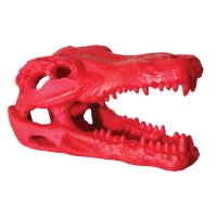 Hermit Crab Alligator Scull Red 7.5x4.5x4.5cm