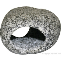Ornament Cave Round (S) 9.5x8.5x5.3cm Granite