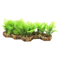 Hermit Crab Plant And Gravel 13.5x5.7x4.5cm